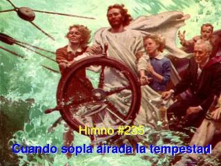 Himno #235 Cuando sopla airada la tempestad