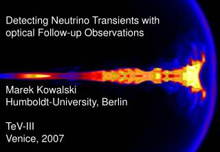 Detecting Neutrino Transients with optical Follow-up Observations