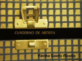 CUADERNO  DE  ARTISTA