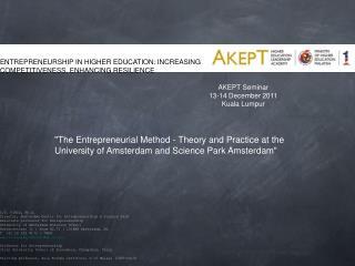 AKEPT Seminar  13-14 December 2011 Kuala Lumpur