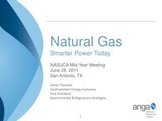 Natural Gas Smarter Power Today NASUCA Mid-Year Meeting  June 28, 2011 San Antonio, TX