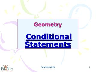 Geometry Conditional Statements