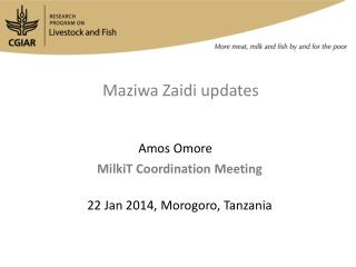 Maziwa Zaidi  updates