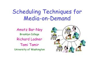 Scheduling Techniques for Media-on-Demand