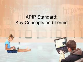 APIP Standard:  Key Concepts and Terms
