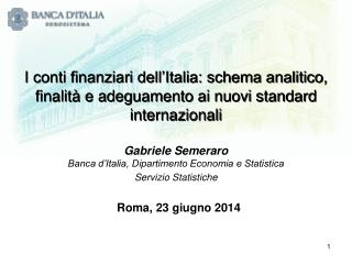 Roma, 23 giugno 2014