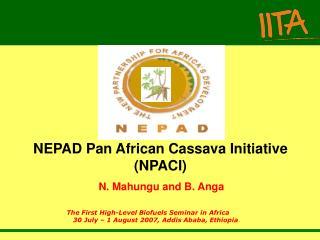 NEPAD Pan African Cassava Initiative (NPACI)