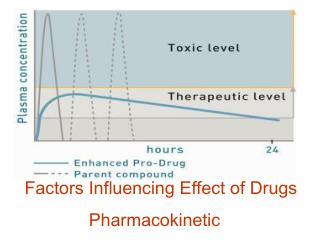 Factors Influencing Effect of Drugs Pharmacokinetic