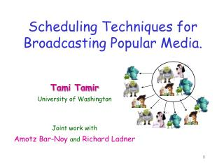 Scheduling Techniques for Broadcasting Popular Media.
