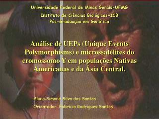 Universidade Federal de Minas Gerais-UFMG Instituto de Ciências Biológicas-ICB
