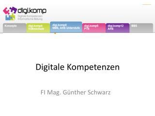 Digitale  Kompetenzen