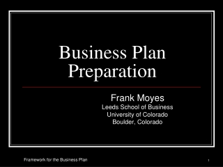 Writing a Successful Development Plan