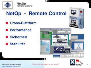 Cross-Plattform  Performance  Sicherheit  Stabilität