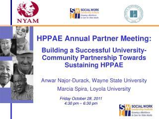 Anwar Najor-Durack, Wayne State University Marcia Spira, Loyola Universit y