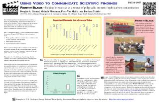 Using   Video  to  Communicate  Scientific  Findings