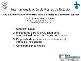 Internacionalización de Planes de Estudio