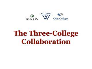 The  Three-College  Collaboration