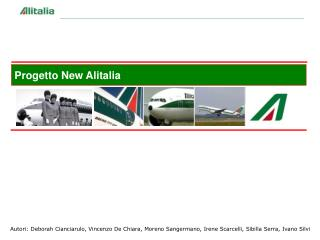 Progetto New Alitalia