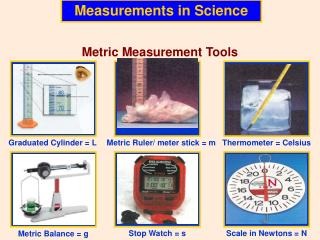 Measurements in Science