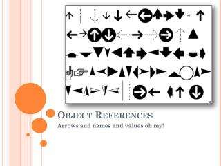Object References