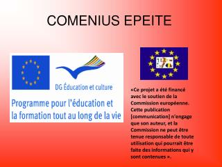 COMENIUS EPEITE