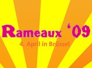 4. April in Brüssel