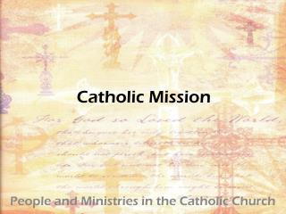Catholic Mission