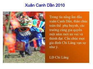 Xuân Canh Dần 2010