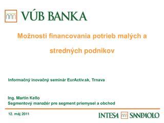 Informačný inovačný seminár EurActiv.sk, Trnava