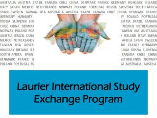 Laurier International Study Exchange Program