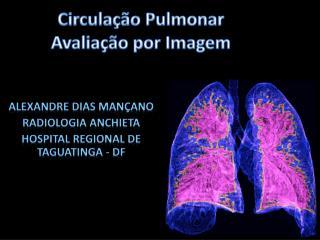 Circula��o Pulmonar Avalia��o por Imagem