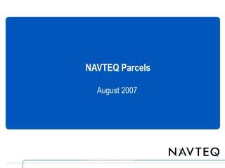 NAVTEQ Parcels