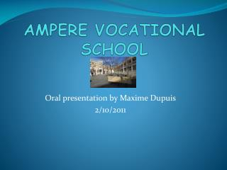 AMPERE VOCATIONAL SCHOOL