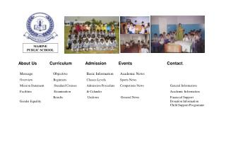 MARINE PUBLIC SCHOOL