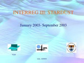 INTERREG III: STARDUST