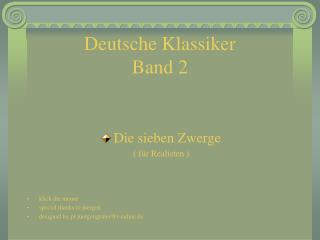 Deutsche Klassiker Band 2