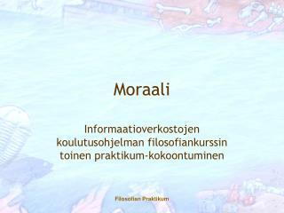 Moraali