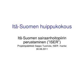 Itä-Suomen huippukokous