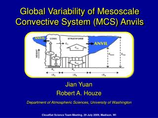 Global Variability of Mesoscale Convective System (MCS) Anvils