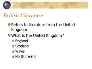 British Literature