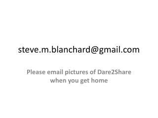 s teve.m.blanchard@gmail