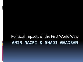 Amir  nazri  &  Shadi Ghadban