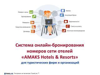 Система онлайн-бронирования номеров сети отелей « AMAKS Hotels & Resorts »