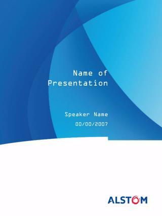 Speaker Name