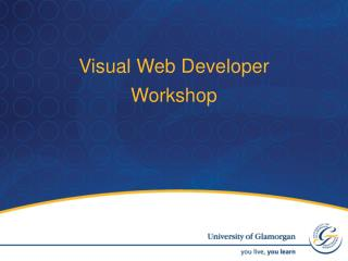 Visual Web Developer Workshop