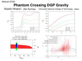 Phantom Crossing DGP Gravity