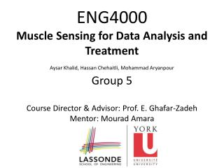ENG4000 Muscle Sensing for Data Analysis and Treatment