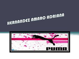 HERNANDEZ AMARO ADRIANA