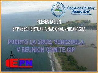 PRESENTACION EMPRESA PORTUARIA NACIONAL - NICARAGUA