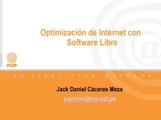 Optimización de Internet con Software Libre